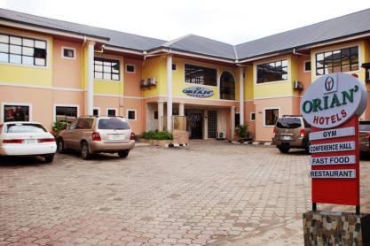 Orian Hotel Main Entrance