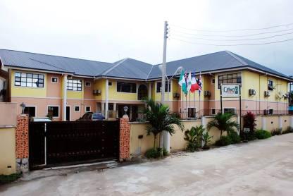 Orian Hotel Rear View