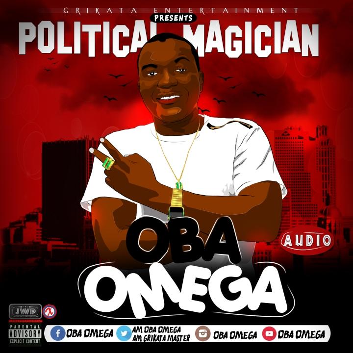 oba omega_political magician cover